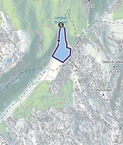 Karte / Lago Lagorai