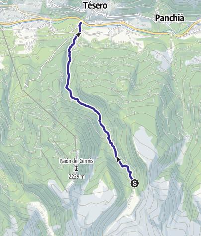 Cartina / Rio Lagorai E7