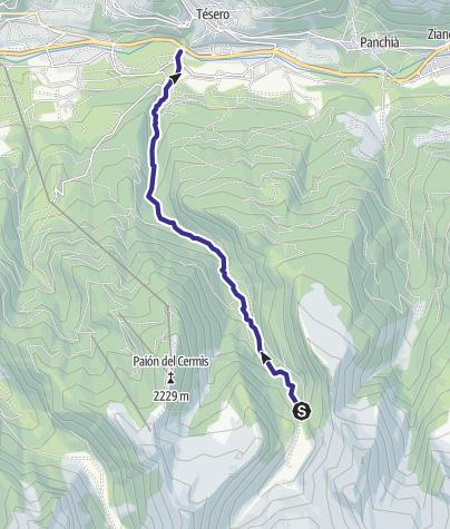 Map / Rio Lagorai E7
