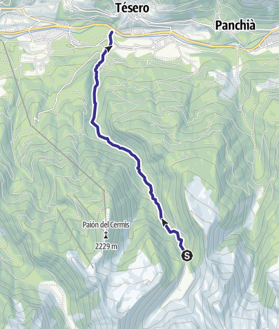 Mappa / Rio Lagorai E7