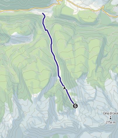 Karte / Rio di Valmaggiore