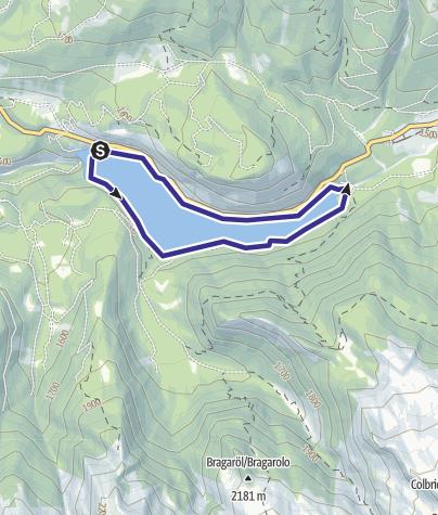 Mappa / Lago delle Buse B