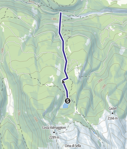 Cartina / Rio delle Laste G3