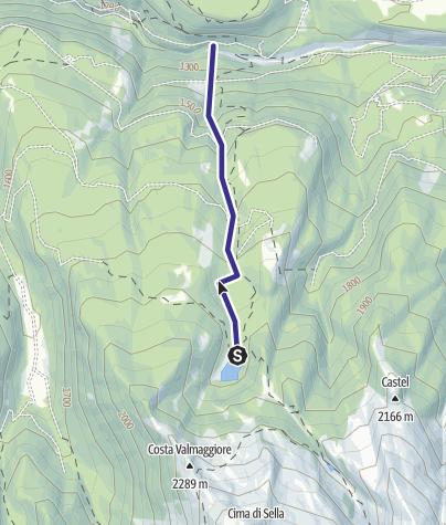 Karte / Rio delle Laste G3