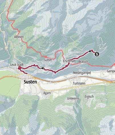 Map / Leuker Sonnenberge