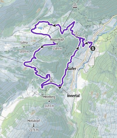 Karte / Brandner-Talrunde   Brand