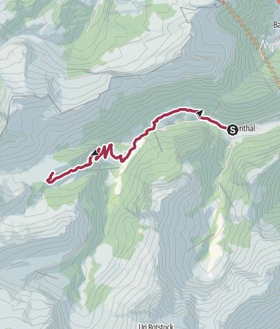 Carte / Via Urschweiz, 2. Etappe