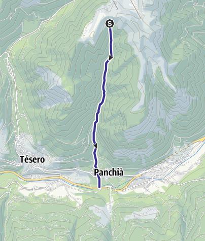 Karte / Rio Bianco E6