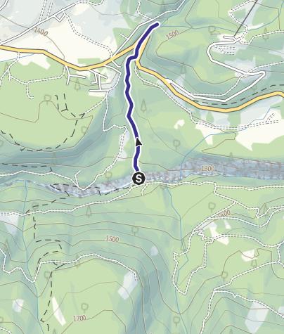 Mappa / Affluenti Torrente Travignolo F
