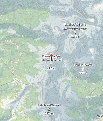 Map / Rosengarten Durchquerung