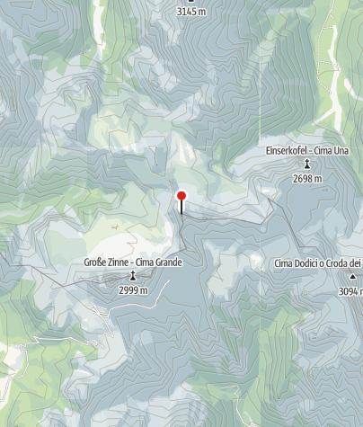 Karte / Derzeit noch Schnee im Innerkoflerweg