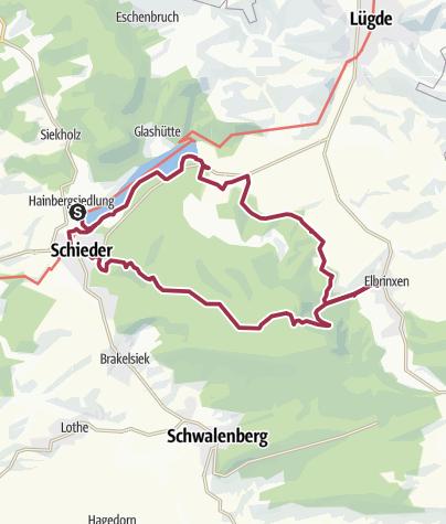 Map / Naturparktrail Nordteil