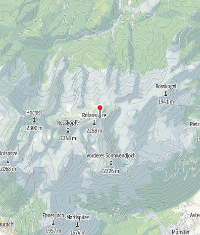 Map / Rofan, Schafsteig gesperrt