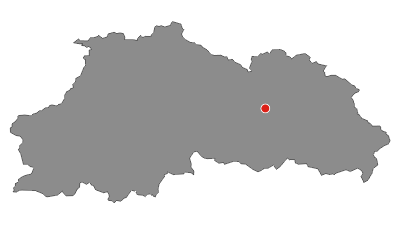 Map / Skitourenreise ins wilde Swanetien