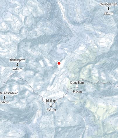 Karte / Skitourenkurs Einsteiger - Kitzbüheler Alpen