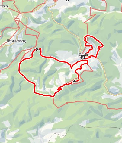 Karte / Der Mythen- und Sagenweg - Erlebnistour rund um Winterberg-Züschen