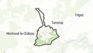 Mapa / Villers-sous-Montrond
