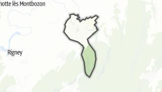 Mapa / Cendrey