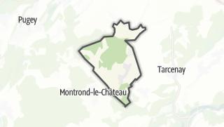Mapa / Mérey-sous-Montrond