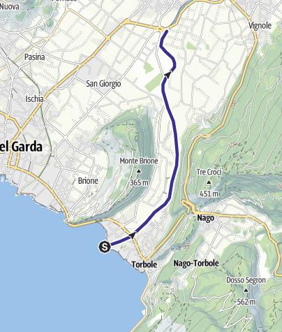 Map / Fiume Sarca U