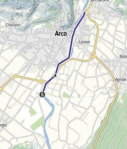 Mappa / Fiume Sarca U2