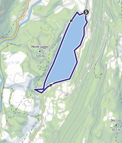 Map / Lago di Cavedine E