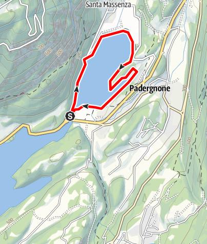Map / Lago di Santa Massenza C