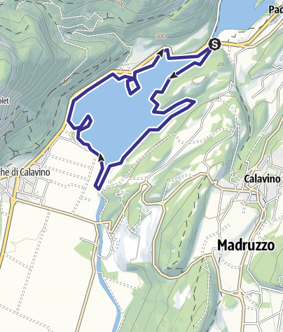 Cartina / Lago di Toblino D