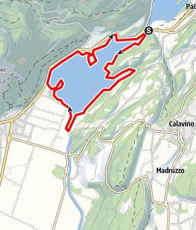 Map / Lago di Toblino D