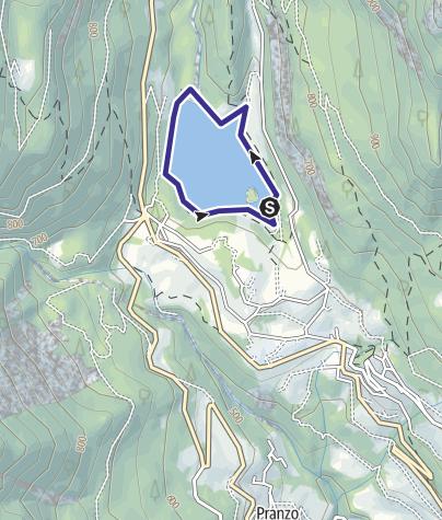 Mappa / Lago di Tenno