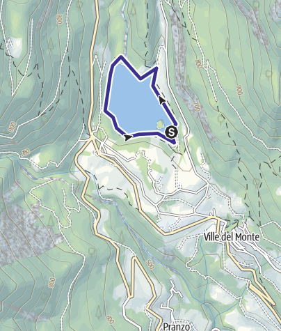 Map / Lago di Tenno