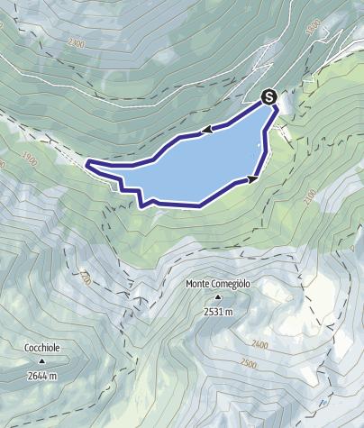 Map / Lago Pian Palù