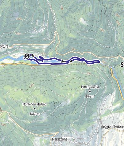 Cartina / Bacino di Ponte Pià S
