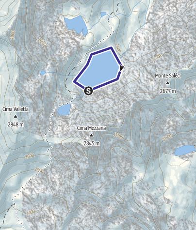 Karte / Lago Soprasasso