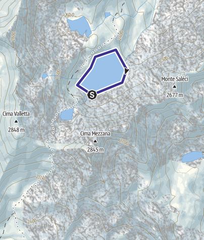 Mappa / Lago Soprasasso