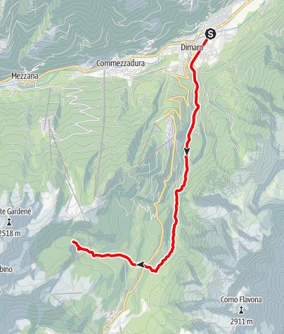 Map / Torrente Meledrio F1-2