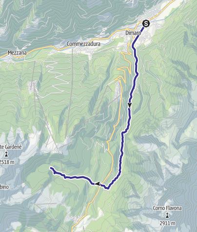 Karte / Torrente Meledrio F1-2