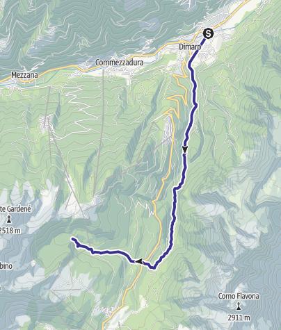 Mappa / Torrente Meledrio F1-2