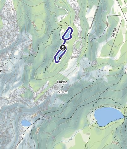 Mappa / Laghetti di Mezzana O