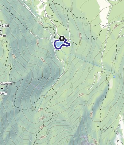 Karte / Lago Fazzon G