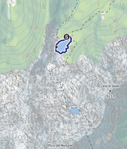 Karte / Lago Barco L