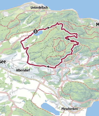 Karte / Pyramidenkogelweg Schiefling