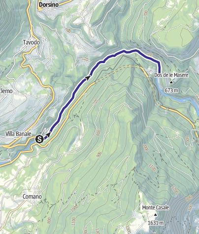 Karte / Fiume Sarca dal Bacino di Ponte Pià - Bocche del Limarò A2