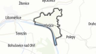 מפה / Křešice