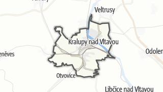 מפה / Kralupy nad Vltavou