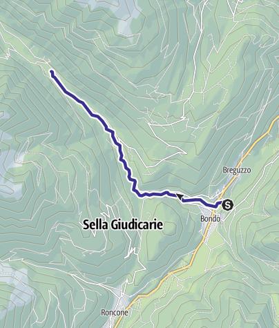 Map / Torrente Arnò dalla presa Enel alla confluenza con Torr. Fiana H