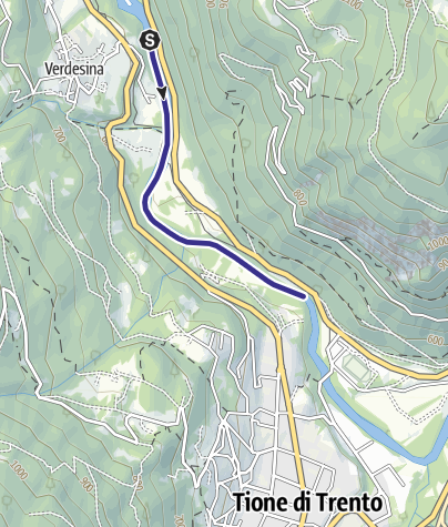 Map / Fiume Sarca Preore loc. Sesena NK1
