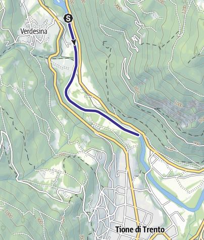 Mappa / Fiume Sarca Preore loc. Sesena NK1