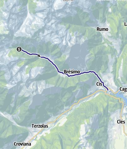 Mappa / Torrente Barnes B