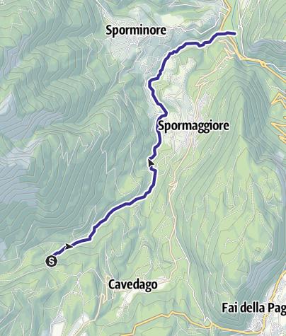 Mappa / Torrente Sporeggio E